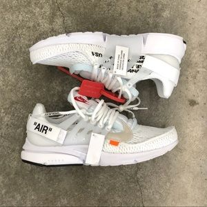 Air Presto Off White White